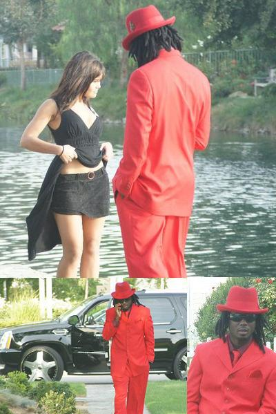 Bebe Cool shooting the Till u Love Me Video
