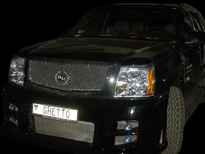 Bobi Wine's Escalade