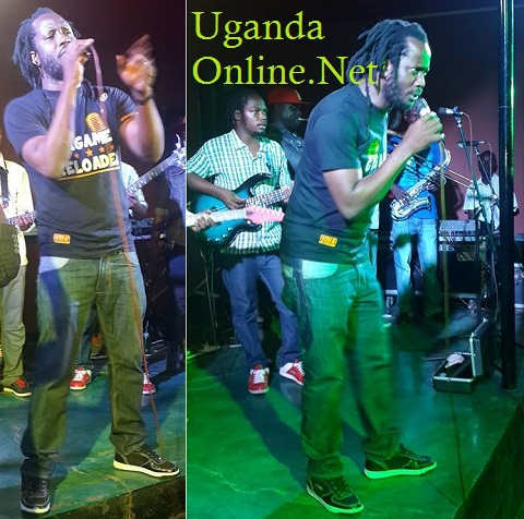 Bebe Cool performing at Firebolt bar in Kansanga