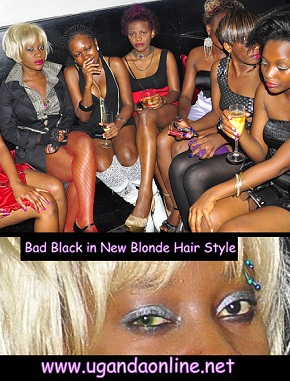 Bad Black was with her brigade of gals at Rouge last Saturday