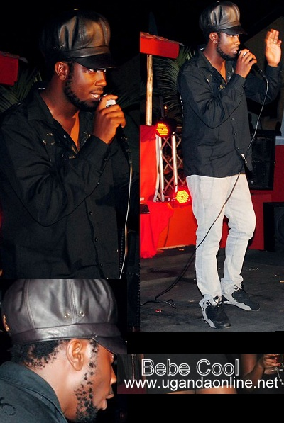 Bebe Cool at Cayenne