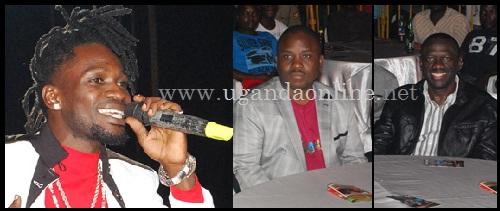 Bobi Wine performing during his Tugambire Ku Jennipher Launch