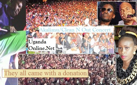 Lugogo Cricket Oval was filled to the brim during the Akalimu Concert