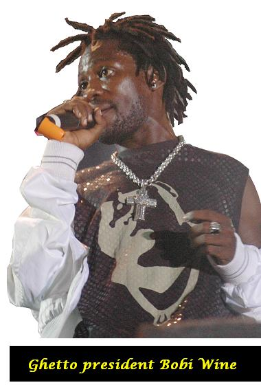 Ghetto president, Bobi Wine at the Basiima Ogenze Concert