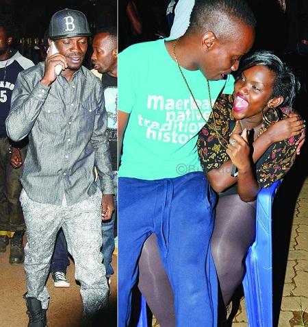 Bobi Wine, Mc Kats and his boo Fille Muthoni