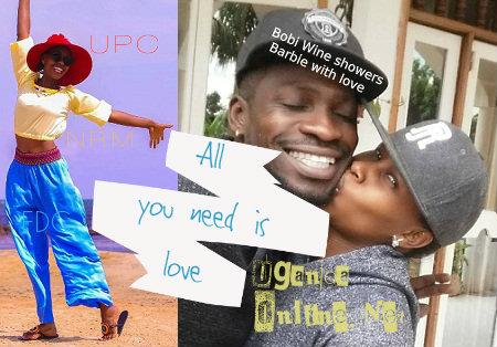 Bobi Wine showers Barbie with love
