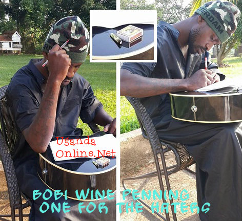 Bobi Wine Penning one for the haters