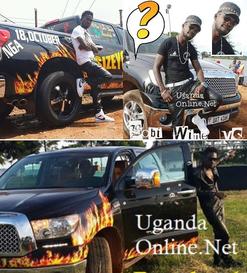 Bobi Wine's customized Tundra