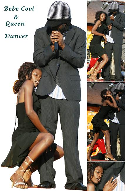 Bebe Cool and Queen Dancer