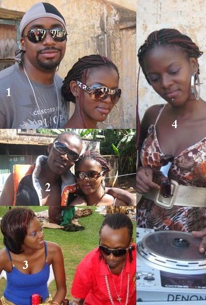Navio, Viboyo, Diamond Oscar and Daphne Basiima