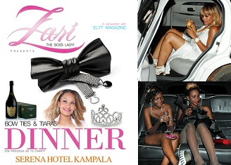 Zari Bow Ties & Tiaras Dinner