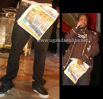 Bebe Cool Attacks the Bukedde Team