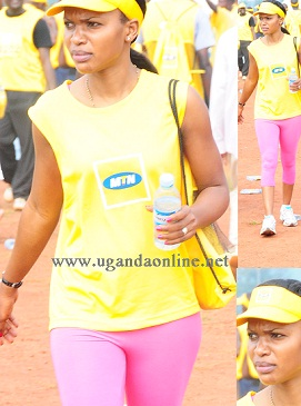 MTN Marathon event at Kololo Airstrip