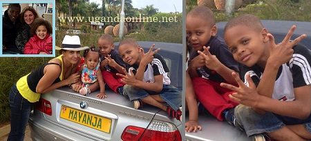 Chameleone's family with swaggarific kids
