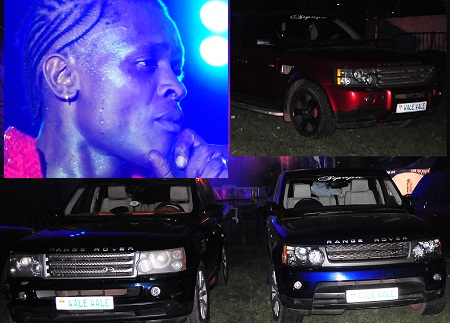 It was a range rover affair