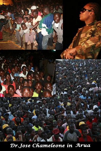 Dr. Jose Chameleone in Arua