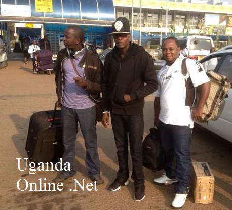 Chameleone on arrival in Congo