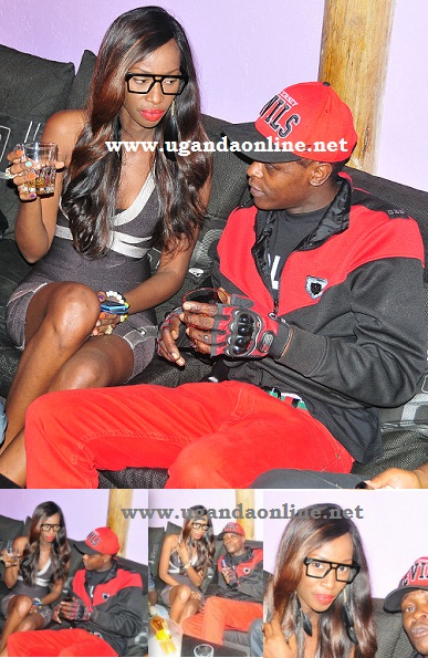 Judith Heard and Chameleone @ Virgin Islands