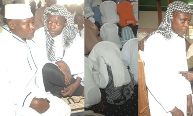 Jose Chameleone attending prayers at Kibuli Mosque