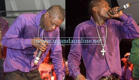 Chameleone performing in Stockholm