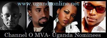 Maurice Kirya, Navio, Keko and Toniks are nominees in the 2012 Music Video Awards