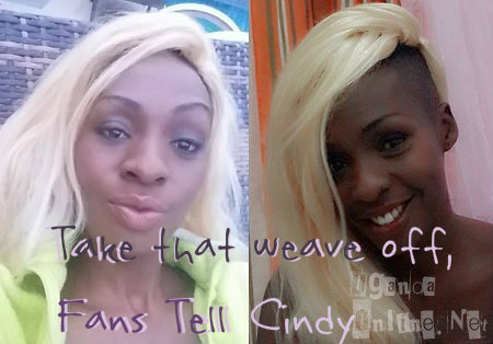 Take the Weave off Fans Tell Cindy