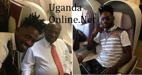 Bobi Wine and Uganda's Vice President Edward Sekandi