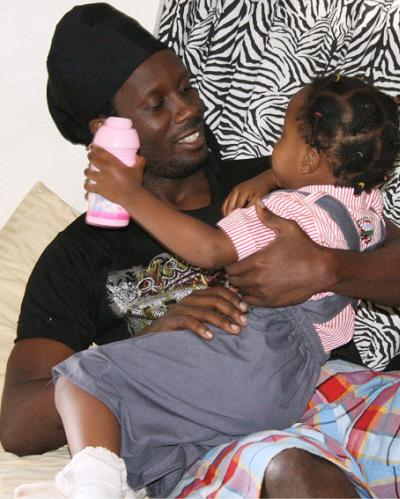 Bebe Cool and Daughter