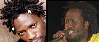 Bobi Wine and Bebe Cool