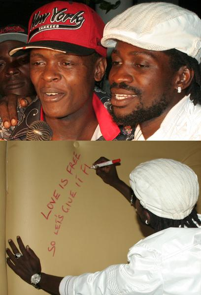 Jose Chameleone and Bobi Wine