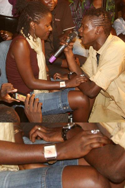 Chameleone Sings to Lauryn