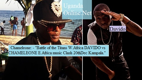Chameleone to battle Davido