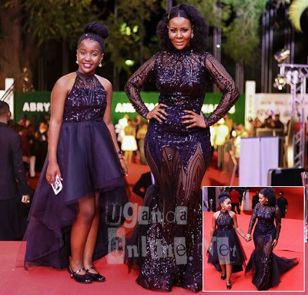 Desire and Daughter at the fashion awards