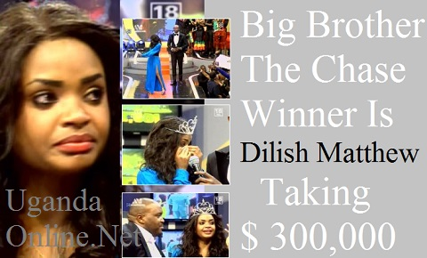 Namibia's Dilish Mathew wins Big Brother The Chase