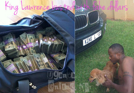 King Lawrence busted after displaying fake dollars