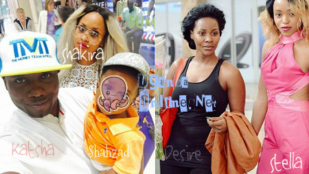 The Couple of the year, Desire Luzinda and the Stella Nankya the host