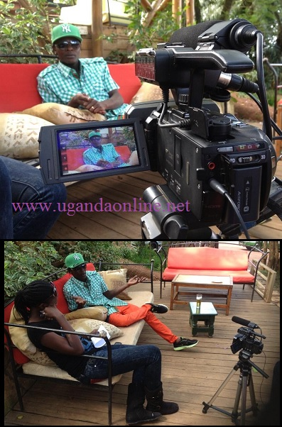 Chameleone during a Badilisha interview