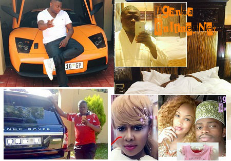 Ivan Ssemwanga spends time taking selfies