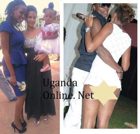 Doreen with Daniella and on the right is Chameleone and Doreen