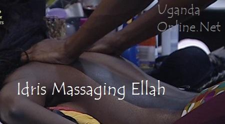 Idris massaging Ellah