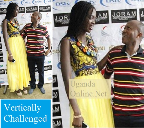 Africa's Next Top Model and Frank Gashumba