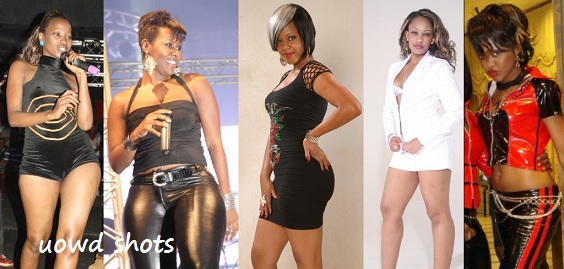 Sheebah, Desire, Zuena, Zari and Mya