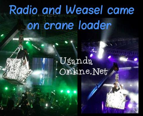 Amaaso-Ntunga Concert at Hotel Africana