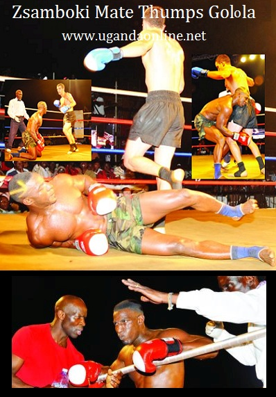 Moses Golola lost to Zsamboki Mate of Hungary on 29-June-2012