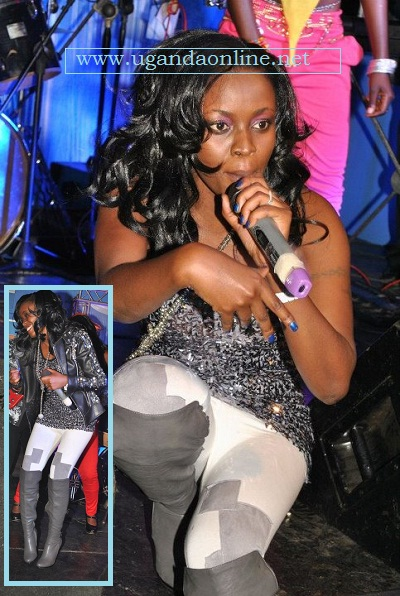 Grace NAKIMERA at Club Silk last Thursday