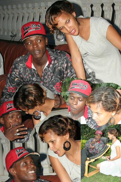 Dr.Jose Chameleone and Wife, Daniella
