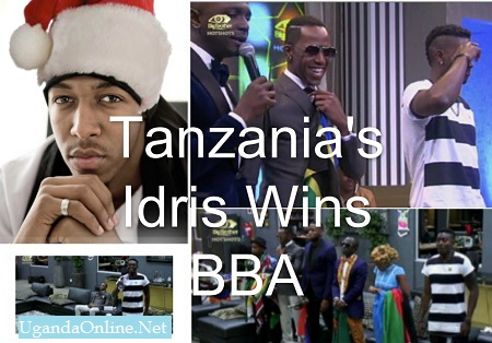Idris from Tanzania wins Big Brother Africa Season 9