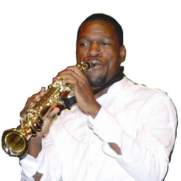 Isaiah Katumwa at the Jazz Festival in Kampala