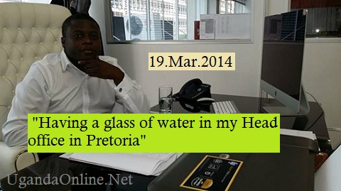 Ivan in his Pretoria based office this morning
