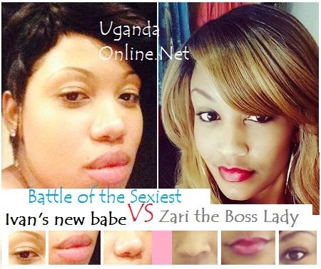 Ivan Semwanga's girl friend compared to his ex-lover Zari